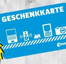 50€ Conrad Geschenkkarte für effektiv 40€ inkl. Versand