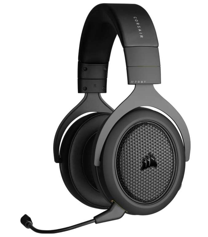 Corsair HS70 Pro Wireless Over-Ear Gaming Headset (abnehmbares Mikrofon, 12 m Reichw., Playstation & PC) für 82,94€