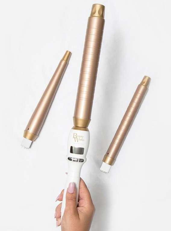 Beautyworks: -20% Rabatt auf alle Styling Tools + VSKfrei - z.B The Professional Styler Trio Edition Lockenstab für 79,20€