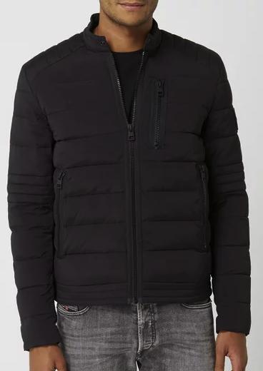 Calvin Klein Jeans Steppjacke im Biker-Look in schwarz für 62,99€inkl. Versand (statt 129€) - Kundenkarte!