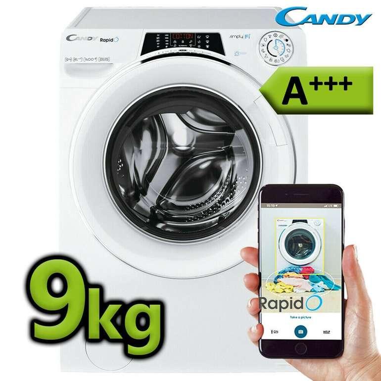 Candy RO 1496 DWHC7/1-S Waschmaschine mit 9kg & A+++ für 279,99€
