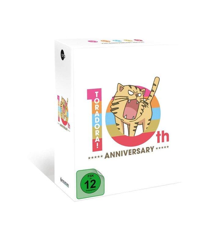 Toradora! 10th Anniversary Edition (Blu-ray) für 95€ inkl. VSK