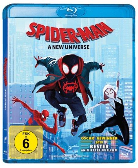 Spider-Man: A new Universe auf Blu-ray ab 5,55€ (statt 13€)
