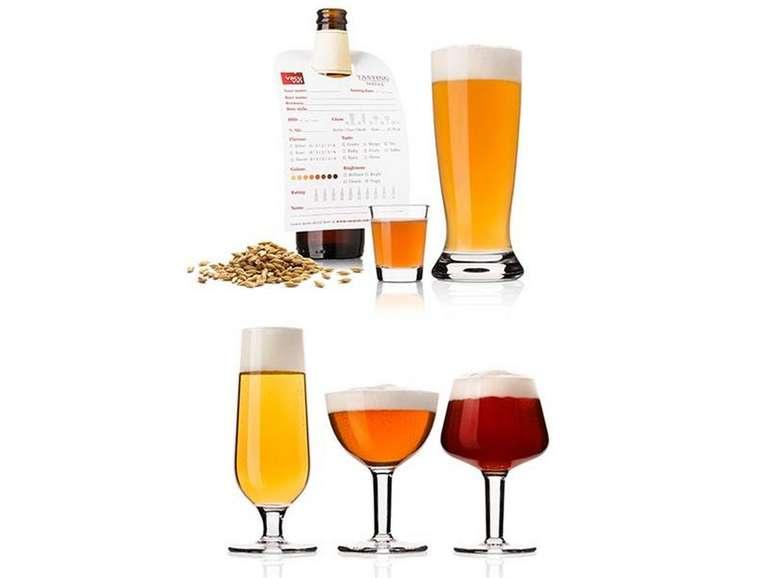 Vacu Vin Bierverkostungs-Set mit 20 Bierverkostungsgläser für 25,90€ inkl. Versand (statt 144€)