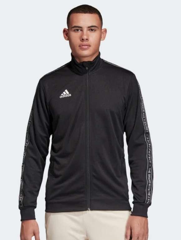 adidas Football Trainingsjacke in schwarz für 28,78€inkl. Versand (statt 36€)