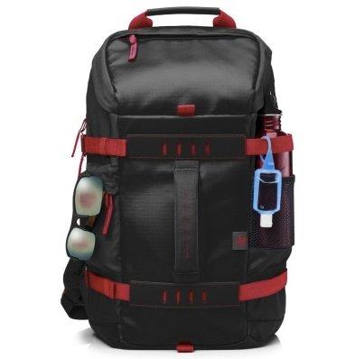 """HP 15,6"""" Odyssey-Rucksack in schwarz/rot für 16€ (statt 28€)"""