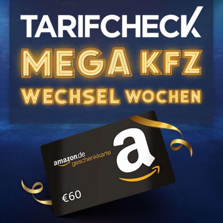 Stichtag 30.11.: KFZ-Versicherung wechseln und 60€ Amazon Gutschein erhalten