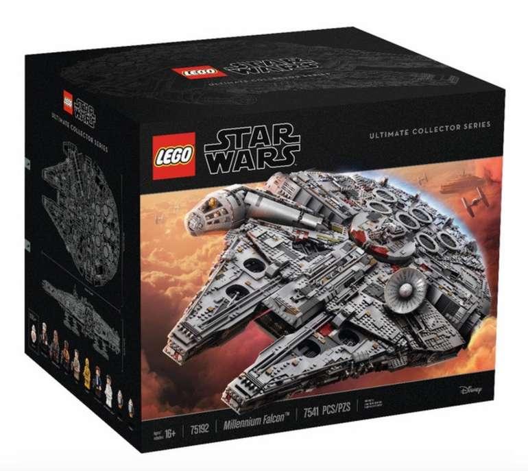 Lego Star Wars Millennium Falcon (75192) für 552,49€ inkl. Versand (statt 686€)
