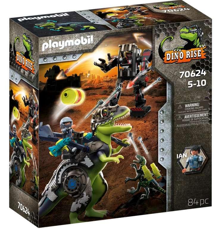 "Playmobil Konstruktions-Spielset ""T-Rex - Kampf der Giganten (70624), Dino Rise"" für 35,99€ inkl. Versand (statt 43€)"