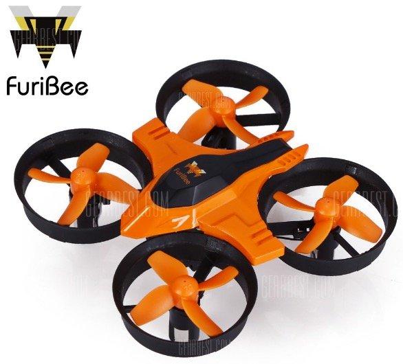 FuriBee F36 Gyro RC Quadcopter für 7,82€ inkl. Versand (statt 15€)