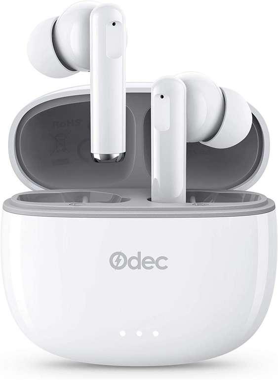 Odec Bluetooth Kopfhörer (IPX5, Mikrofon) für 15,55€ inkl. Prime Versand (statt 25€)