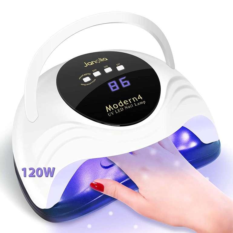 Janolia 120W UV LED Nageltrockner für 14,78€ inkl. Prime Versand (statt 24€)