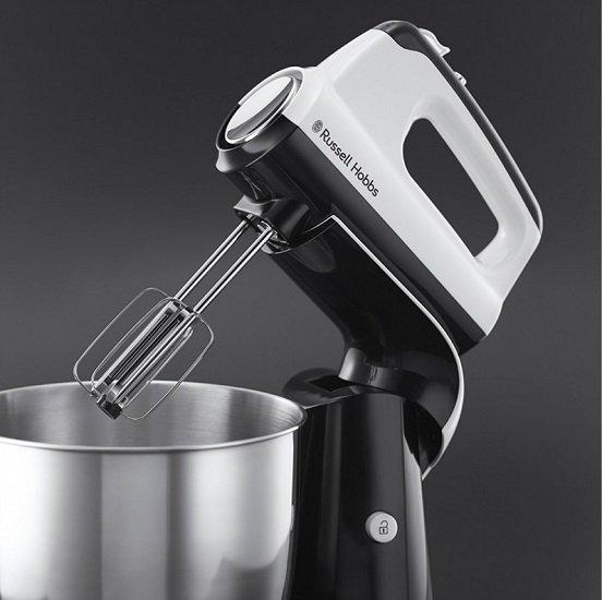 Russell Hobbs Horizon 350 Watt Handmixer mit Rührschüssel & Geräteständer für 39,90€ inkl. VSK