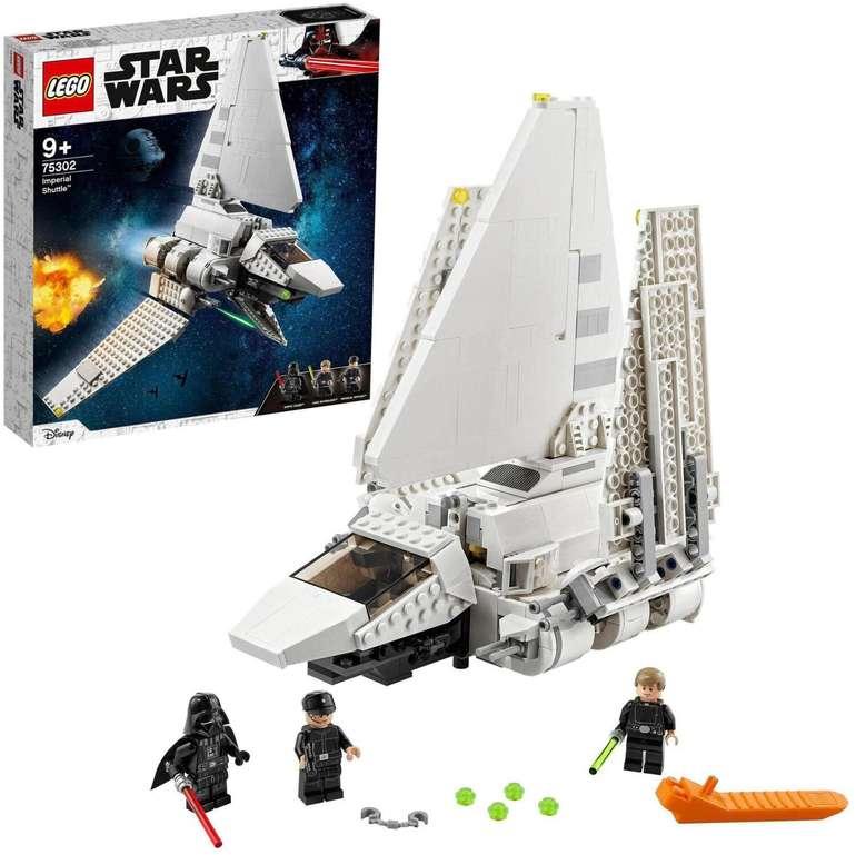 Lego Imperial Shuttle (75302) für 52,98€ inkl. Versand (statt 60€)
