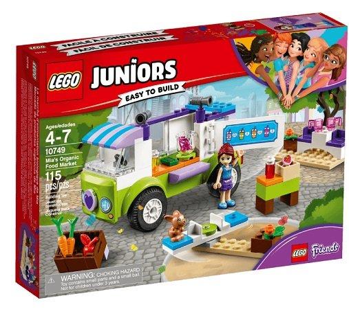 Lego Juniors - Mias Bio Foodtruck (10749) für 9,99€ inkl. VSK (statt 18€)