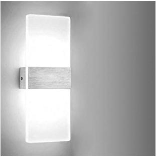 Hengda Modern Up LED Wandleuchte mit 6 Watt für 11,19€ inkl. Prime (statt 16€)