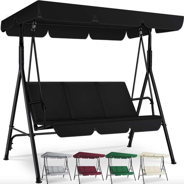Kesser 164 S - 3-Sitzer Hollywoodschaukel (versch. Farben) für je 89,70€ inkl. Versand (statt 110€)