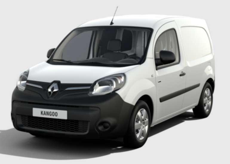 Gewerbeleasing: Renault Kangoo Z.E. 33 mit 60 PS (Automatik) für 66,39€ (netto) mtl. (6000€ BAFA, EK: 923,5€, LF: 0,20)