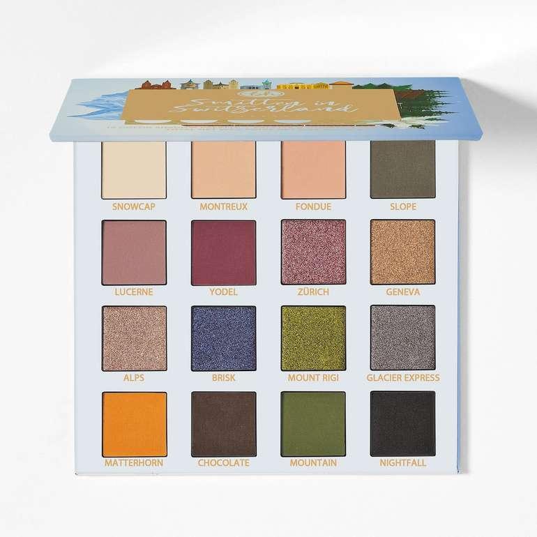 BH-Cosmetics: Bis 40% Rabatt auf Lidschatten-Paletten + VSKfreie Lieferung ab 35€ Bestellwert