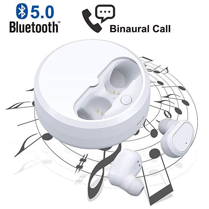 Wifun Bluetooth-Kopfhörer (In-Ears) mit Ladeschale für 19,99€ inkl. Versand