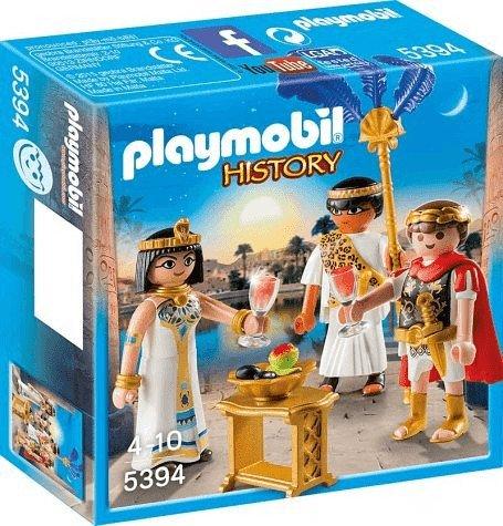 Playmobil 5394 History - Cäsar & Kleopatra für 5€ (statt 9€) - Prime Versand