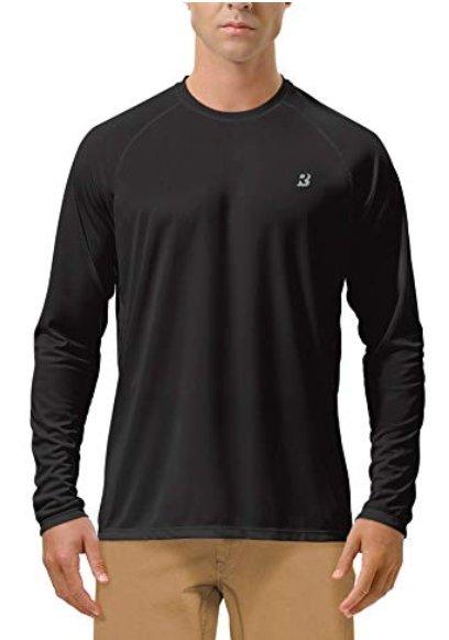 Roadbox atmungsaktives Herren Langarmshirt mit UV Schutz ab 13,49€ (Prime)
