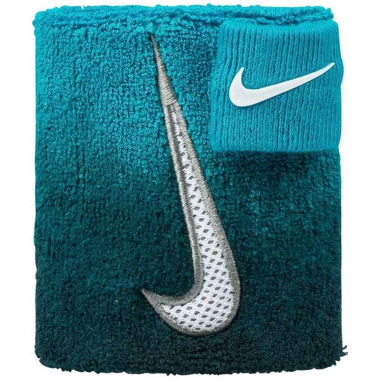 Nike AC0347 Swoosh Wristband Schweißband mit Daumenband für 4,94€ inkl. VSK