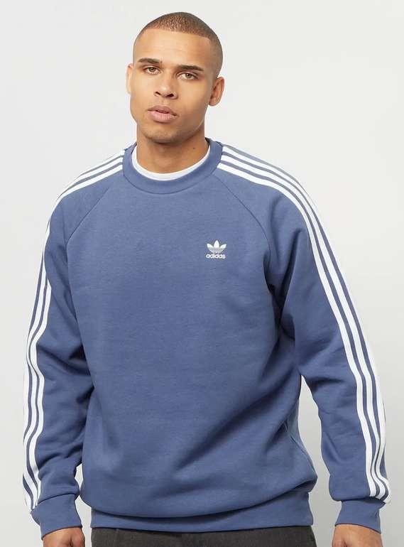 Bis 10 Uhr: Snipes Late Night Special - 30% Extra auf ausgewähltes, z.B. Adidas 3-Stripes Sweatshirt für 34,99€