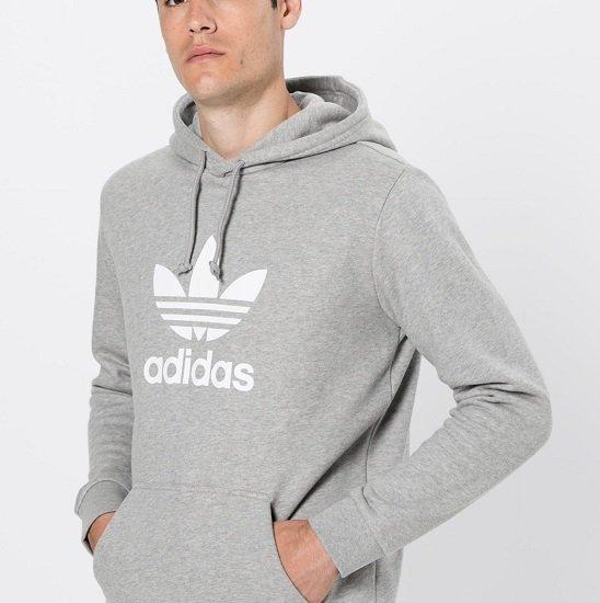 adidas Originals Trefoil Herren Kapuzenpullover für 39,68€ (statt 58€)