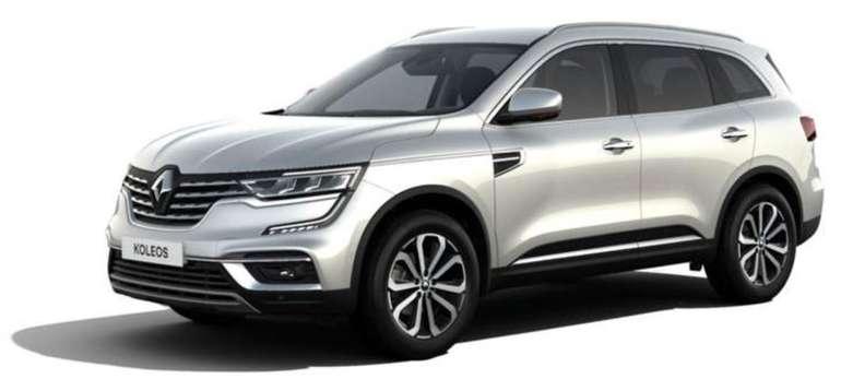 Gewerbe Leasing: Renault Koleos Intens Blue dCi 185 X-Tronic (185 PS) für ca. 125,21€ netto mtl. (ÜF: 890€, LF: 0,33)