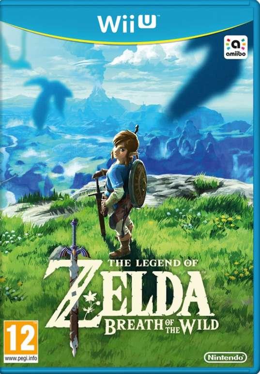 The Legend of Zelda: Breath of the Wild (Wii U) für 43,95€ inkl. Versand (statt 55€)