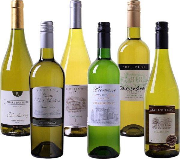 Verlängert! 6er Weinprobierpaket Chardonnay für 27,99€ statt 35€ (UVP 65€)