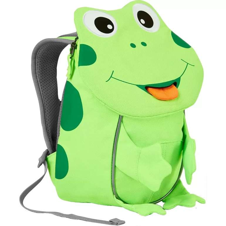 Affenzahn Rucksack kleiner Freund Frosch Neon für 29,99€ inkl. Versand (statt 34€)