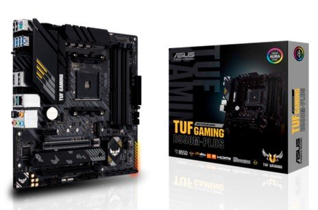Asus Tuf Gaming B550M-Plus Mainboard (PCIe 4.0, USB 3.2 Gen 2 Typ-C, HDMI-2.1) für 127,71€ + Cashback!