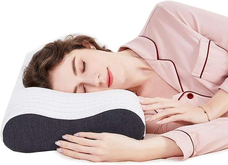 Sikaini orthopädisches Nackenstützkissen für Erwachsene für 29,99€ inkl. Prime Versand (statt 50€)