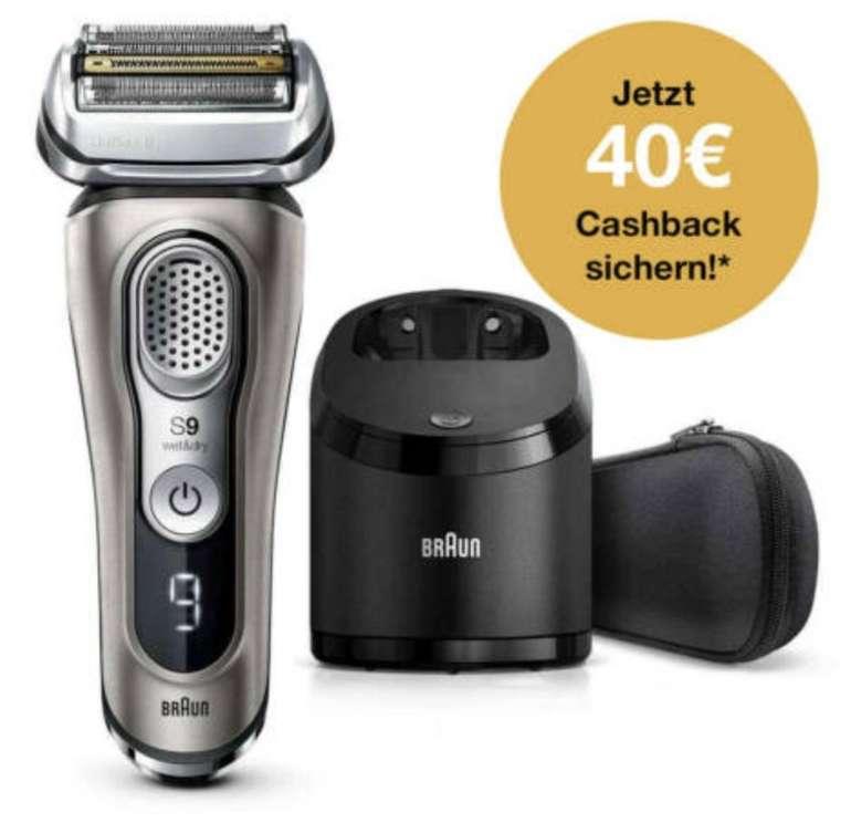 Braun Series 9 9365CC Elektrorasierer + Reinigungsstation für 239,99€ (statt 300€) + 40€ Cashback