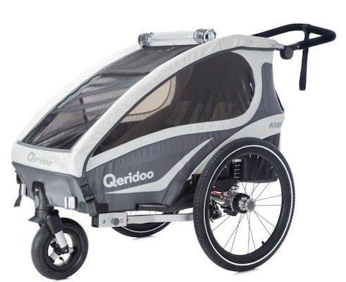 Qeridoo Kidgoo1 Fahrradanhänger (Modell 2018) für 328,97€ (statt 368€)