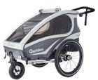 Qeridoo Kidgoo1 Fahrradanhänger (Modell 2018) für 332,99€ (statt 440€) + 16,64€ in Babypionts