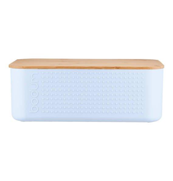 """Bodum Brotbox """"Bistro"""" mit Holzdeckel in diversen Farben ab 7,99€ oder + 3,95€ VSK (statt 24€)"""