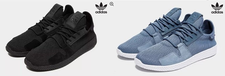 adidas Originals x Pharrell Williams Tennis Hu V2 Herren Sneaker 2