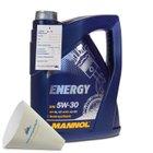 5 Liter Mannol Energy 5W-30 Motorenöl für 10,99€ (statt 15€)