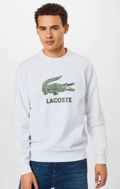 Lacoste Sweatshirt in grau oder weiß für 44,95€inkl. Versand (statt 88€)