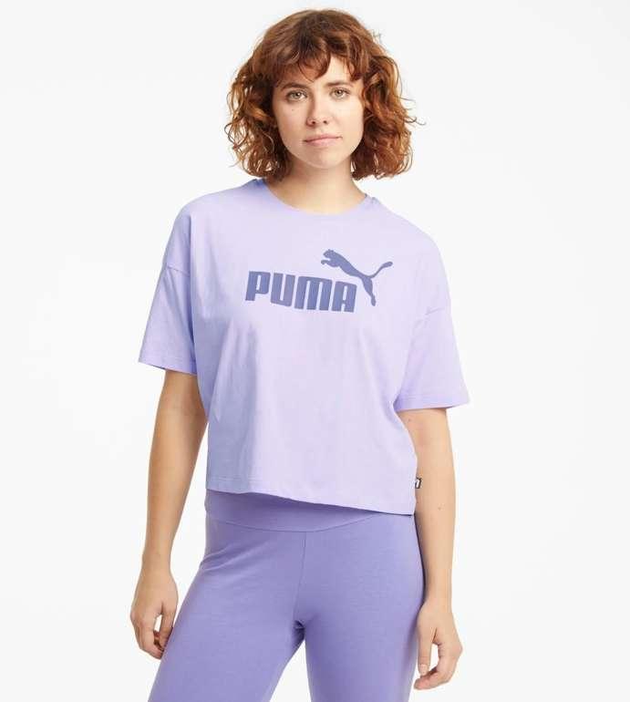 Puma Essentials Logo Cropped Damen T-Shirt in 3 Farben für je 11,16€ inkl. Versand (statt 15€)