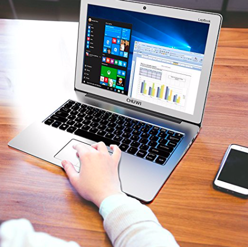 "CHUWI LapBook 12,3"" (Celeron, 6GB RAM, 64GB eMMC, Win10) für 220,49€"