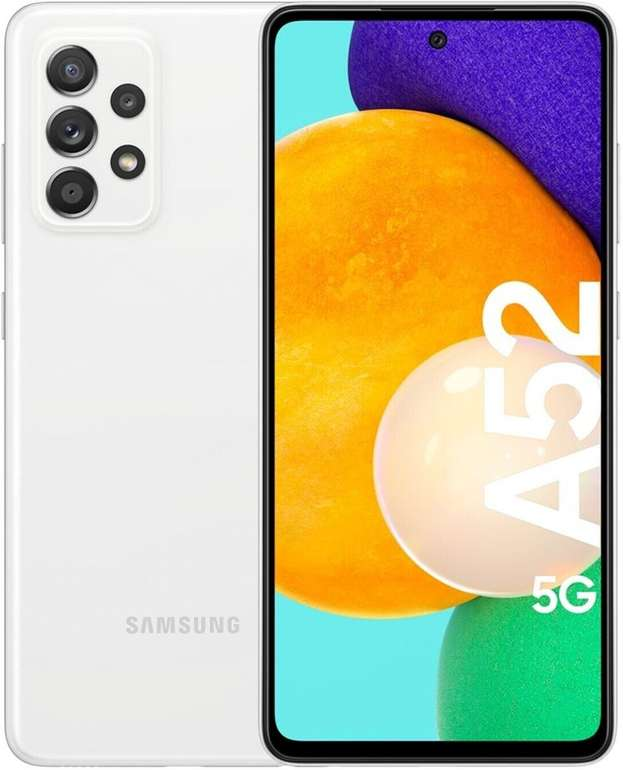 Samsung Galaxy A52 5G Smartphone mit 128GB Speicher für 347,94€ (statt 378€) + gratis Galaxy Buds+