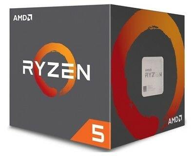 AMD Ryzen 5 2600X CPU BOX Prozessor (6-Core, 3,6GHz, Socket AM4) für 119,90€