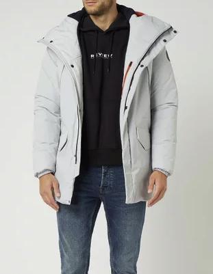"""Napapijri Jacke mit Wattierung Modell """"Rankine"""" in Grau / Schwarz für 149,99€inkl. Versand (statt 280€)"""