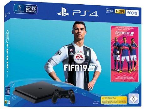 Sony Playstation 4 Slim mit 500GB + FIFA 19 ab 239€ (statt 274€)