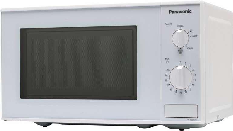 """Panasonic """"NN-E201WMEPG"""" Mikrowelle in Weiß für 59,90€ inkl. Versand (statt 68€) - Newsletter!"""