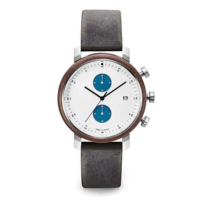 Take a Shot Herren Uhr 'Humphrey' in grau/weiß für 115,20€ inkl. Versand (statt 170€)